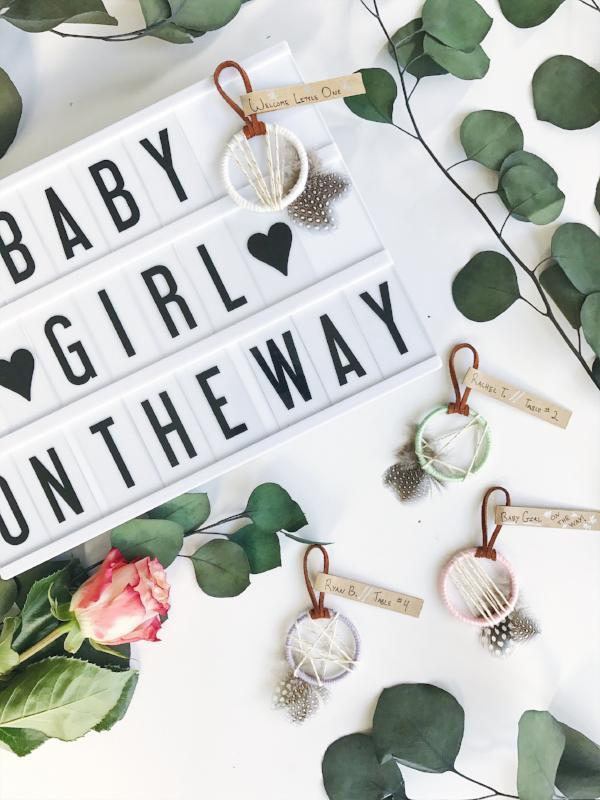Unique Boho Baby Shower Favors | Bast + Bruin