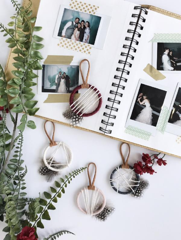 Guest Book and Dreamcatcher Favors | Bast + Bruin
