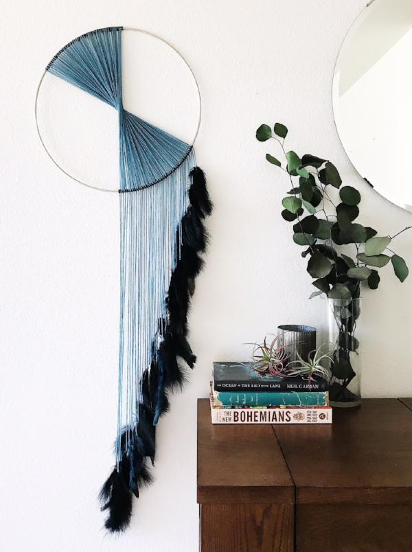 Modern Minimalist Dream Catcher | Bast + Bruin