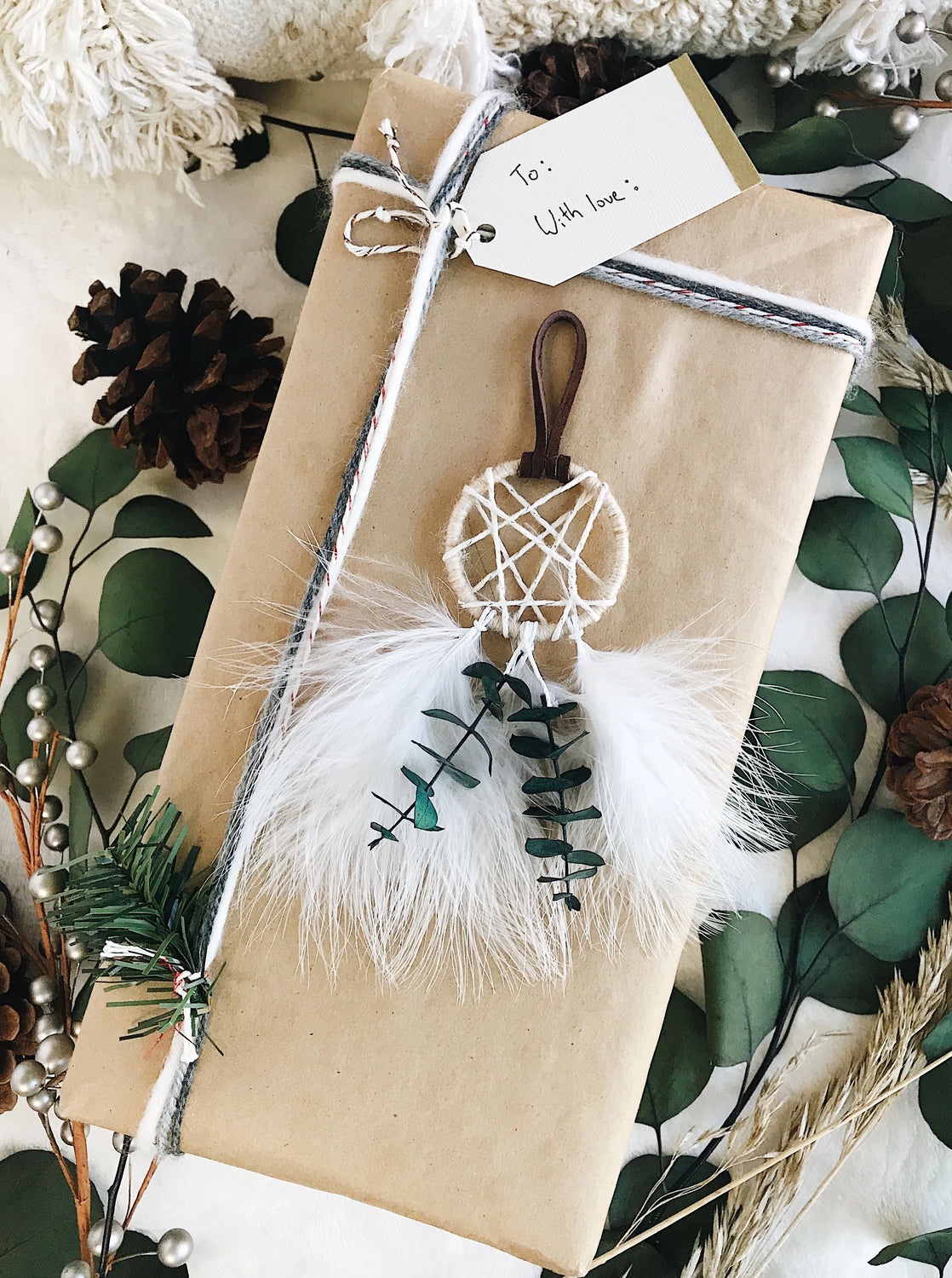 Natural Christmas Ornament | Boho Christmas Decoration