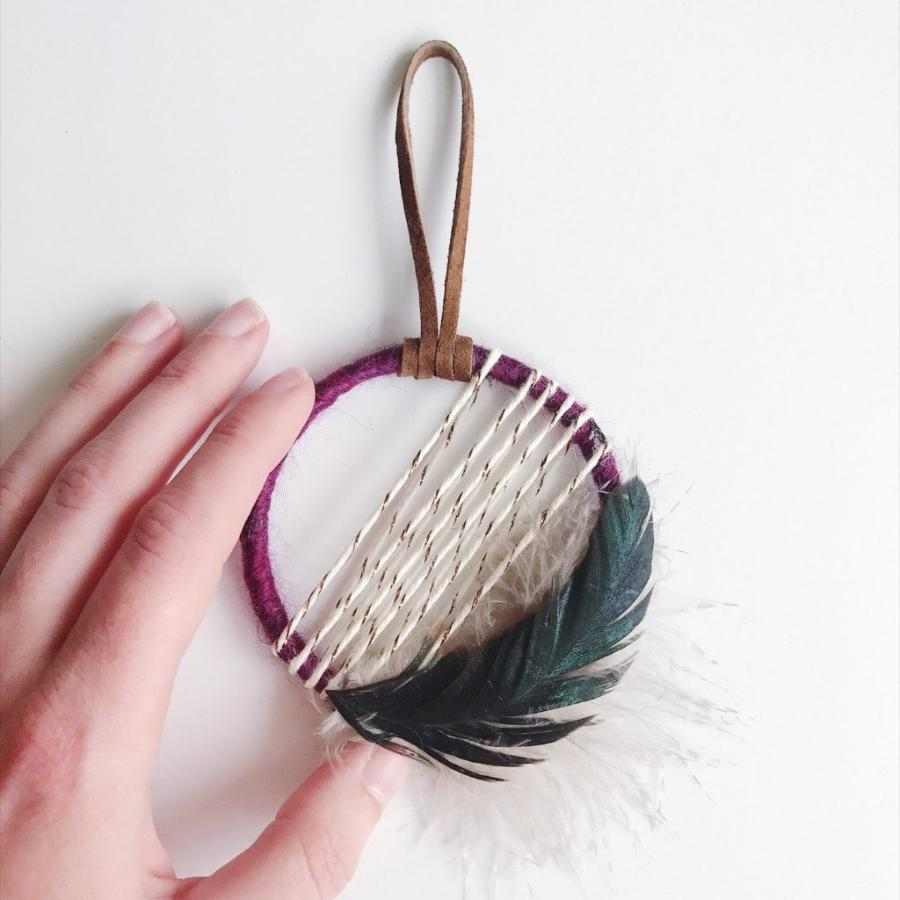 Holiday Housewarming Gift│Mini Dreamcatcher