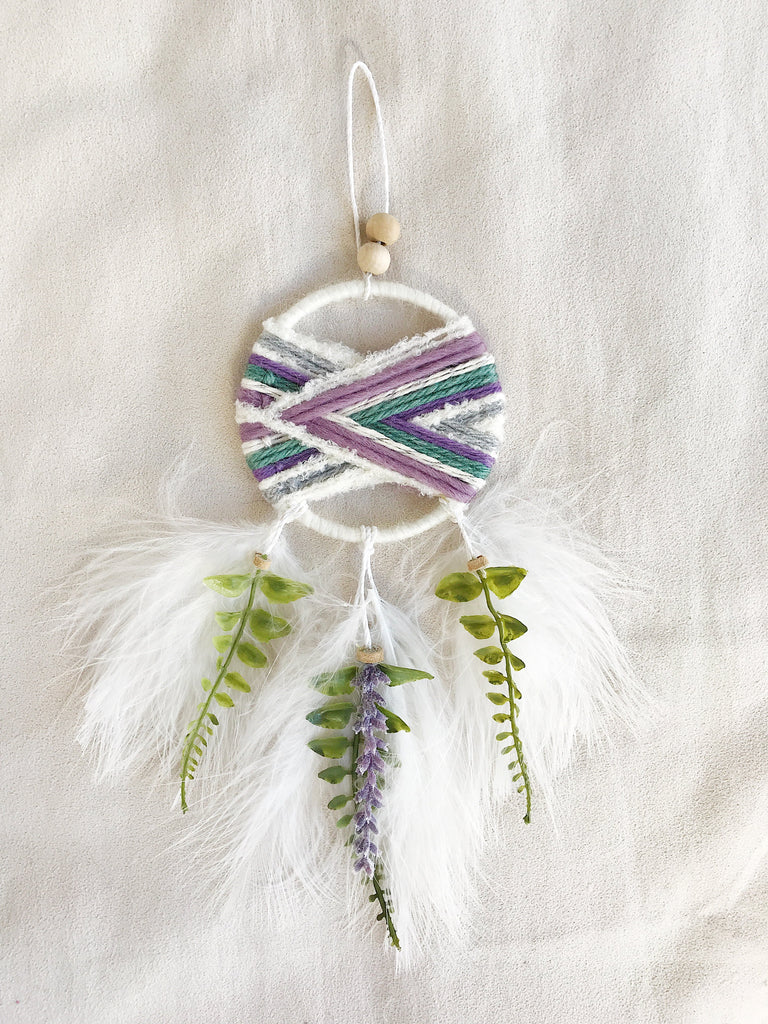 Cherry Blossom Woven Dream Catcher