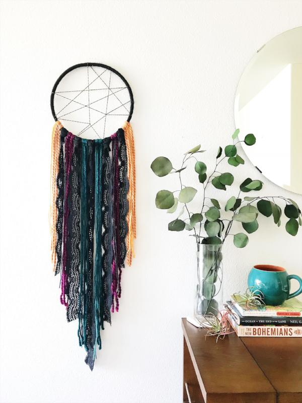 Vintage Lace Dreamcatcher