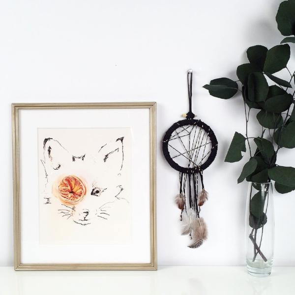 bohemian home decor with dreamcatcher accent | bast + bruin