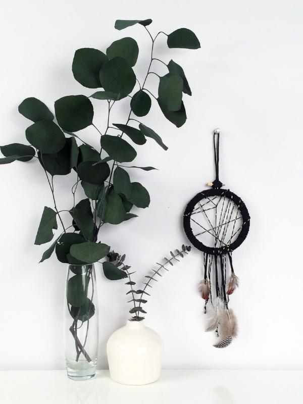 Boho Home Decor | Black Dreamcatcher by Bast + Bruin