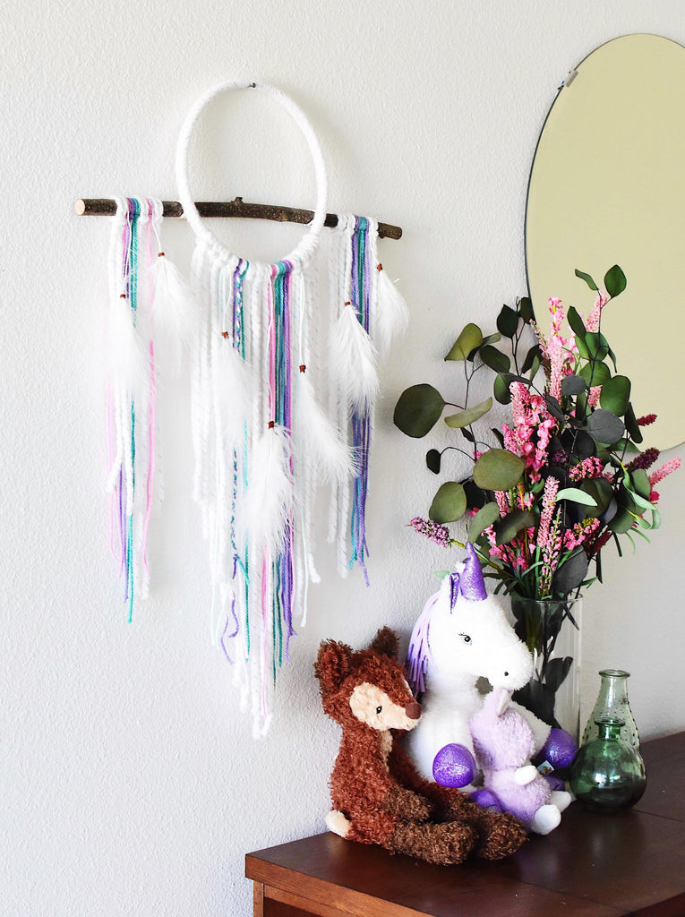 Small Rarefied Air Dream Catcher - Mermaid
