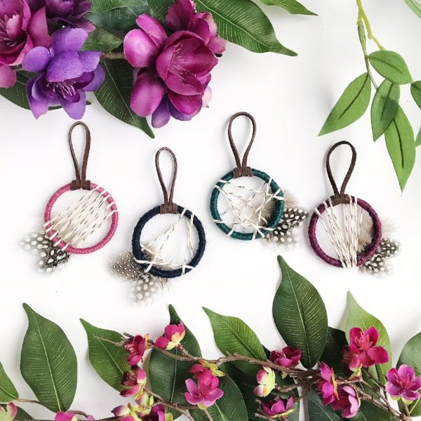 jewel toned boho bridal shower favors by bast + bruin