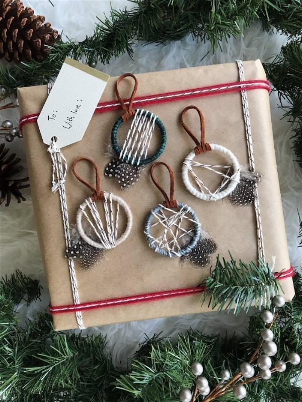 Woodland Christmas Ornaments and Gift Tie Ons