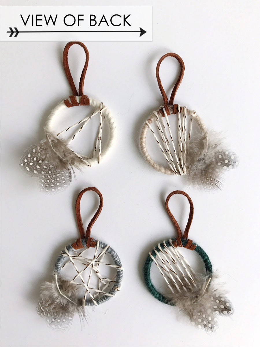 Woodland Petite Ornament Set - Pick Two