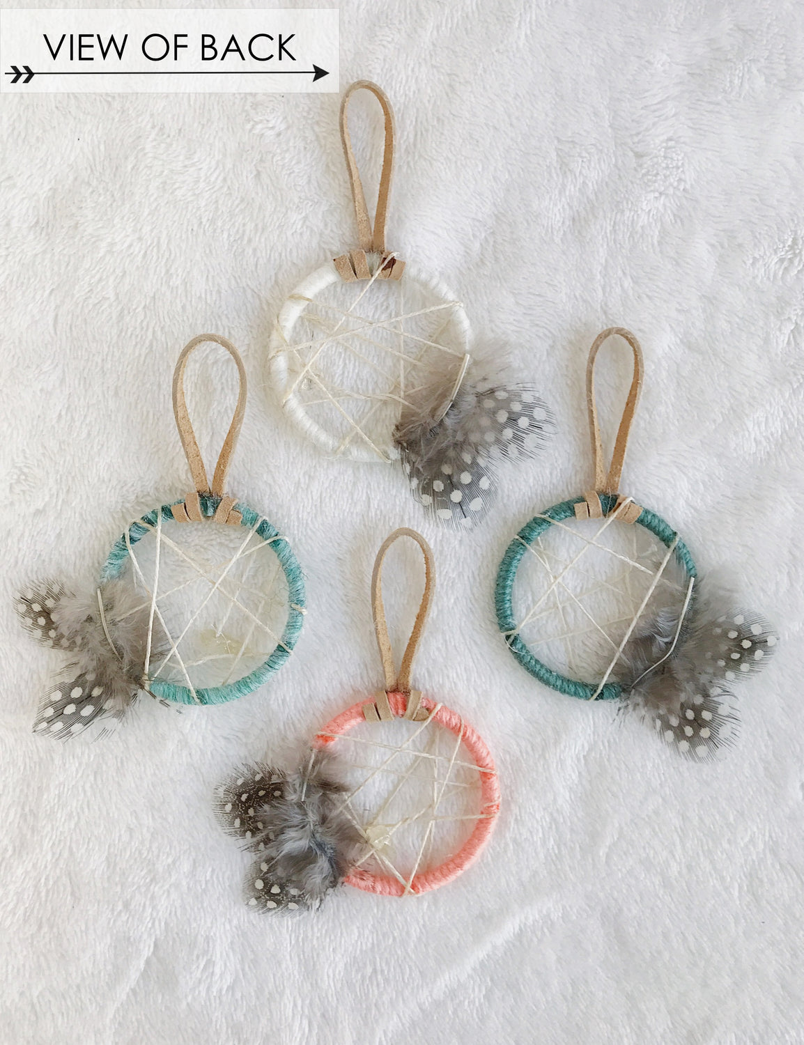 Sea Glass Petite Ornament Set