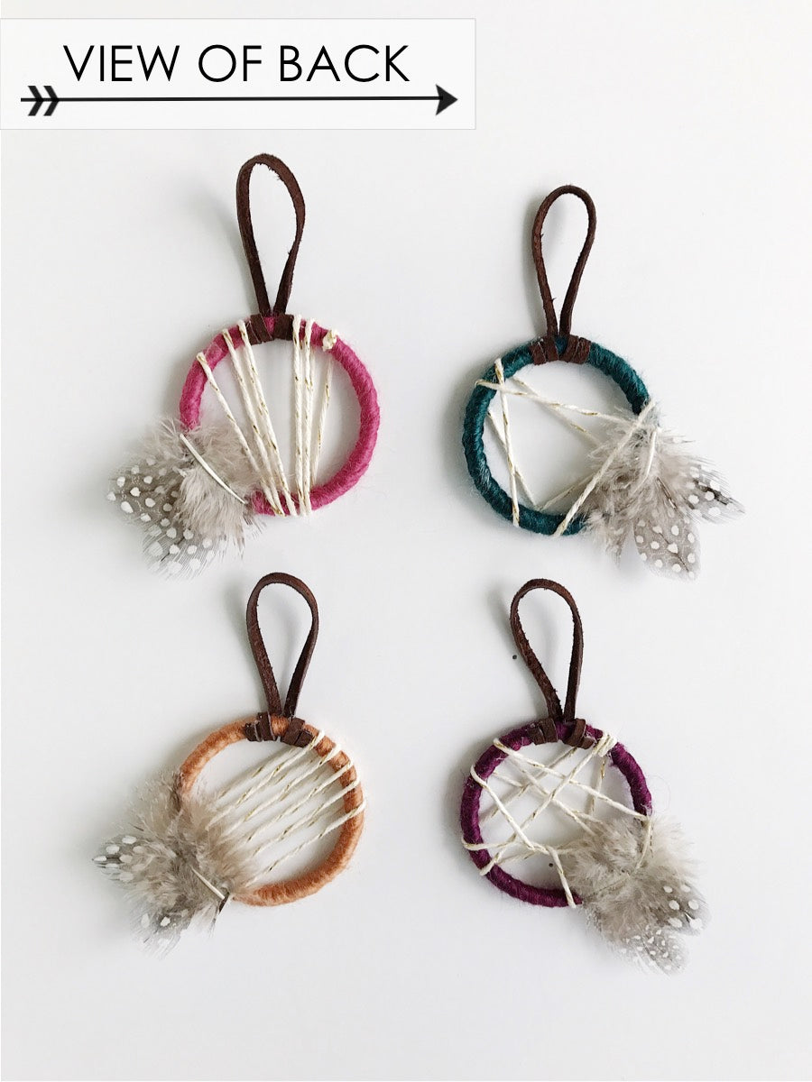Jewel Tone Petite Ornament Set