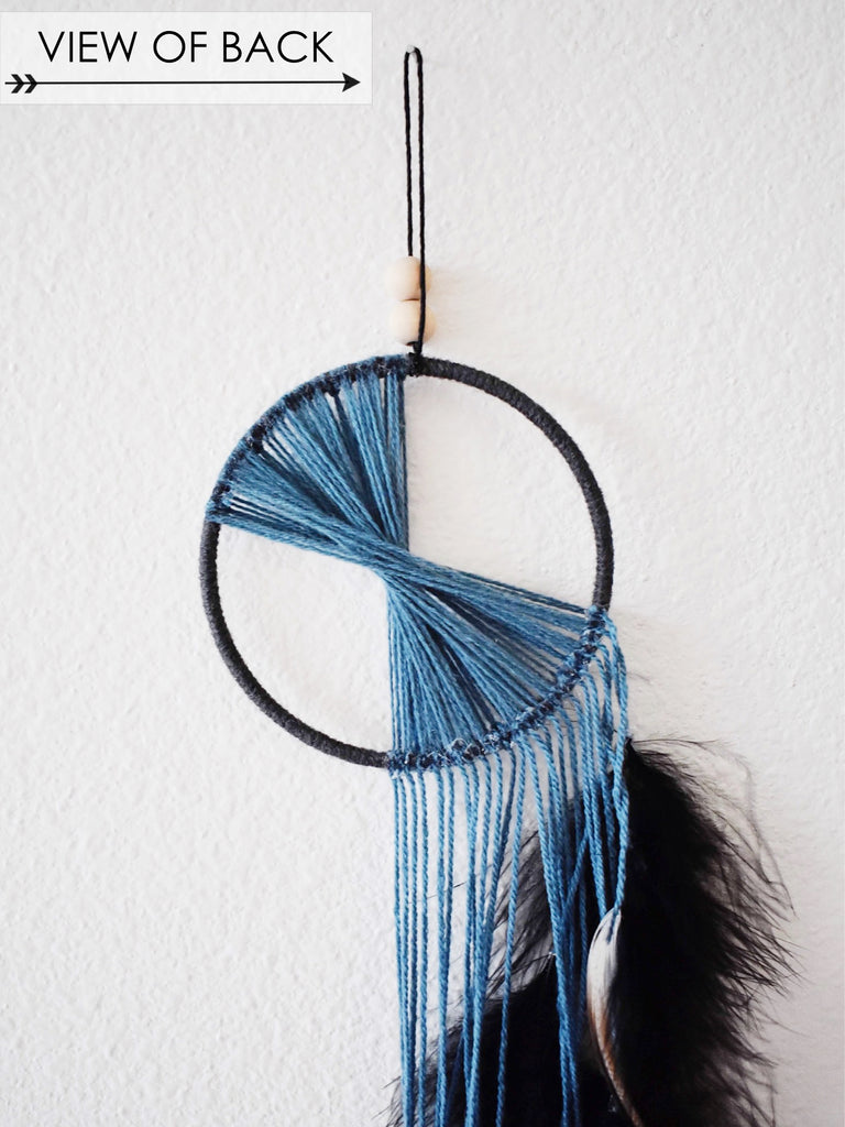 Waterfall Dream Catcher - Teal (small)