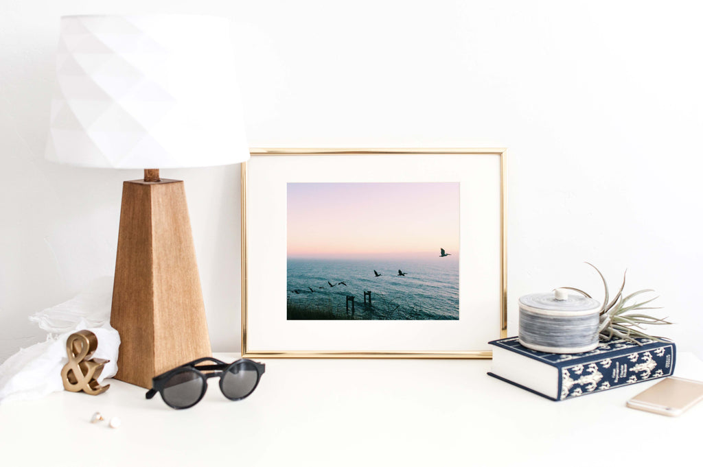 The Horizon is Calling | Coastal Photography Print