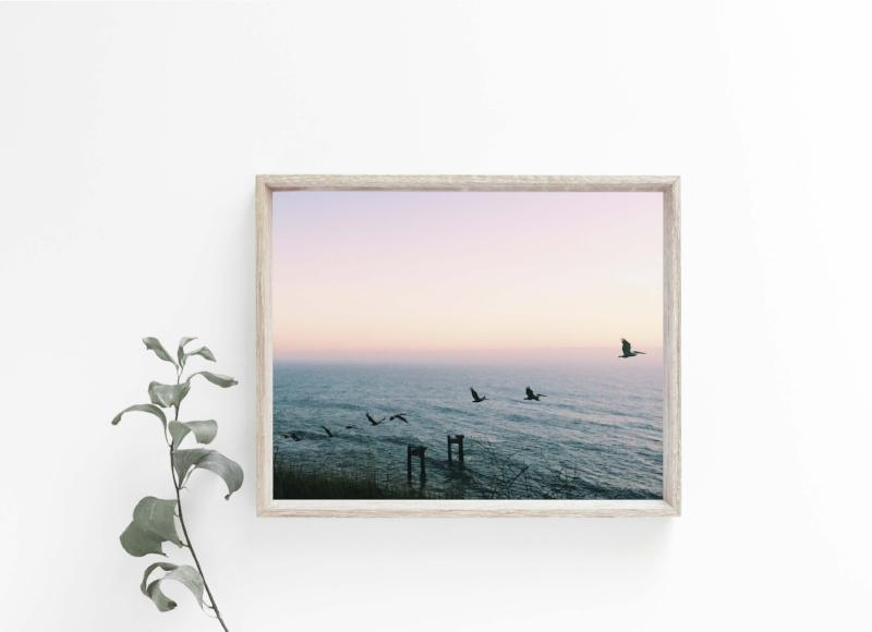 the horizon is calling | wild coast photography print | bast + bruin
