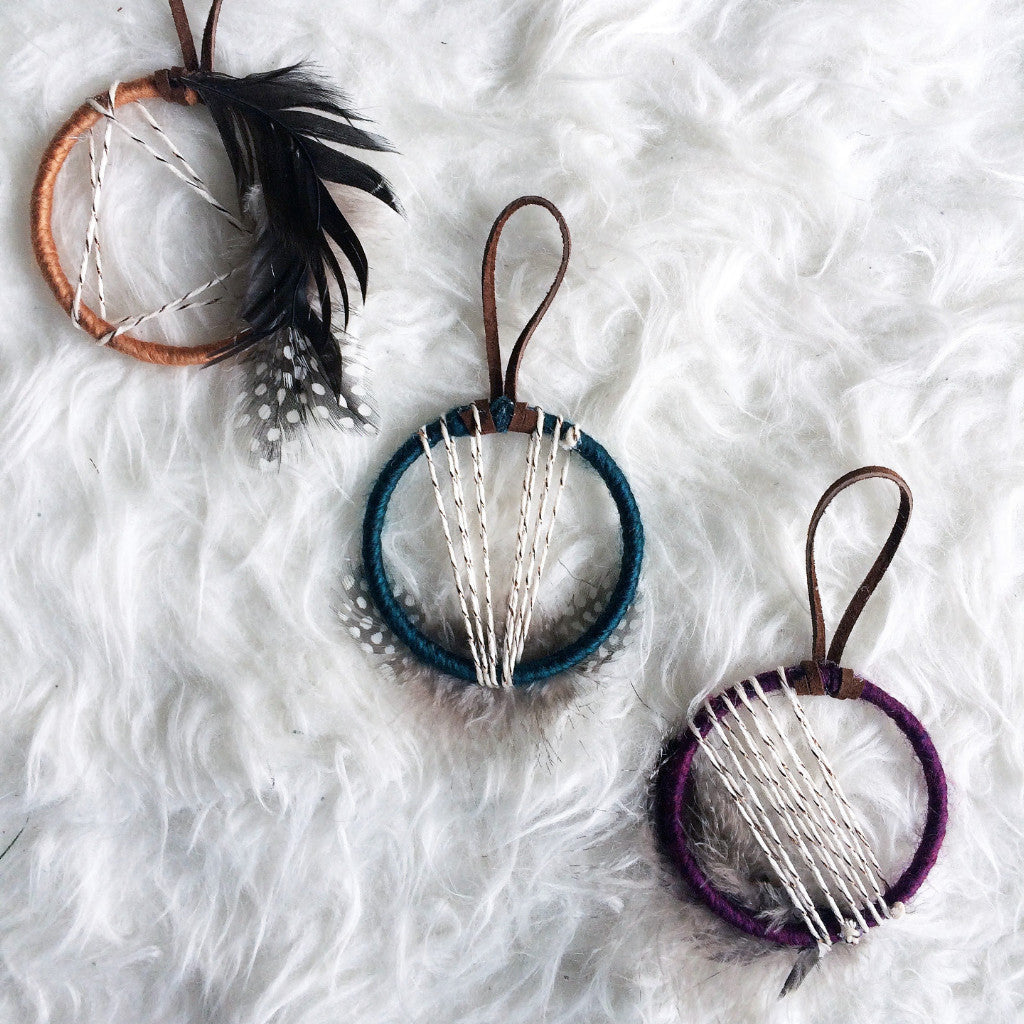 Jewel Tone Dreamcatcher Favors