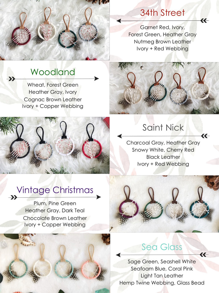 Saint Nick Petite Ornament Set