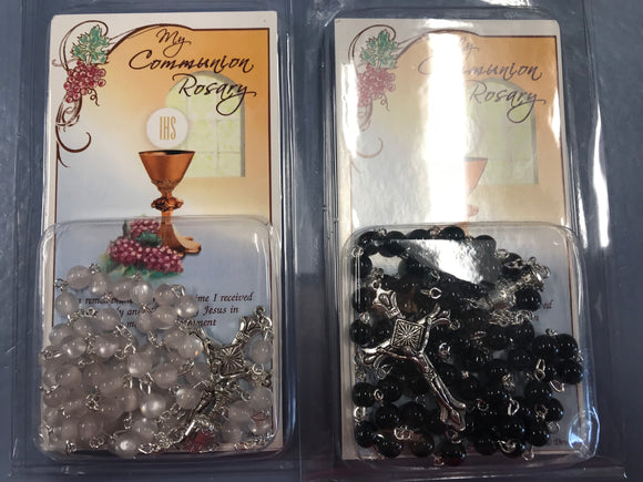 First Communion Rosaries