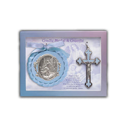 Crib Medal And Baby Crucifix - 100/8690