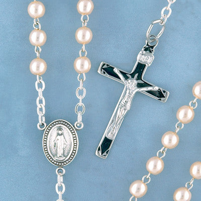 Pearl Rosary - 1504