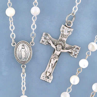 Pearl Rosary - 155/S