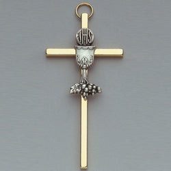 Gold Tone Cross - 17/096