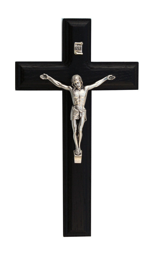 7.5in. Black Crucifix