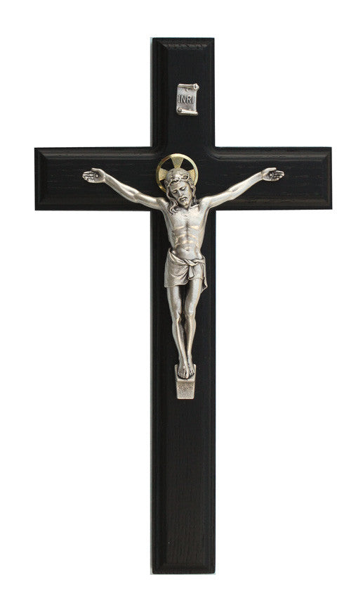 11in. Black Crucifix
