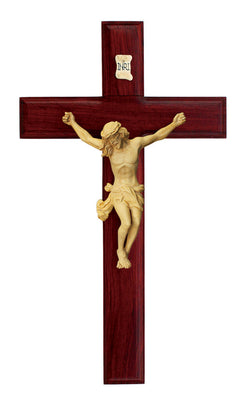 11in. Rosewood Crucifix