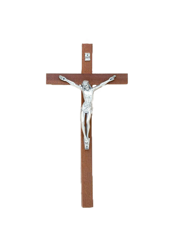 12in. Mahogany Crucifix - 17/741