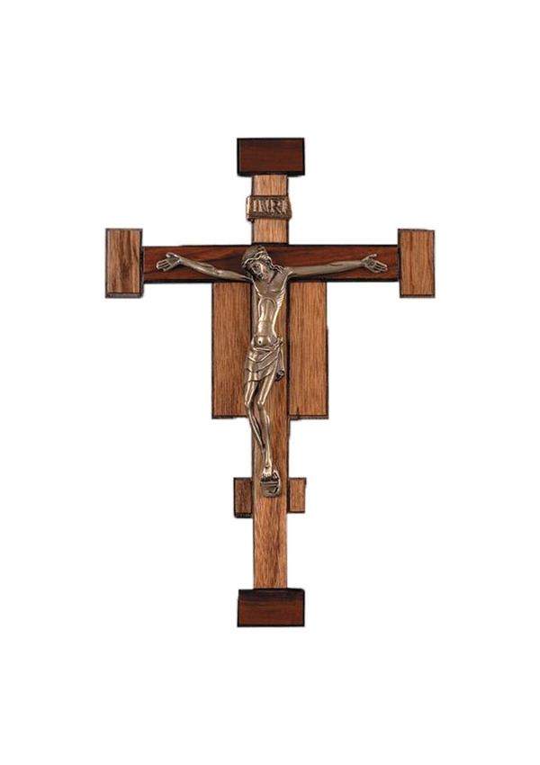 12.5in. Franciscan Crucifix