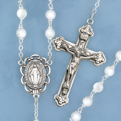 Mother of Pearl Rosary - 276/S