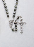 Iridescent Cat's Eye Rosary - 4235
