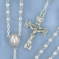 Sterling Rosary - 532/S
