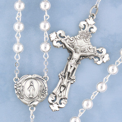 Sterling Rosary - 536/S