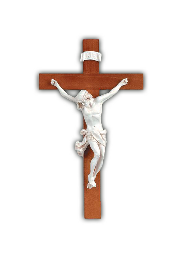 14in. Wood Crucifix