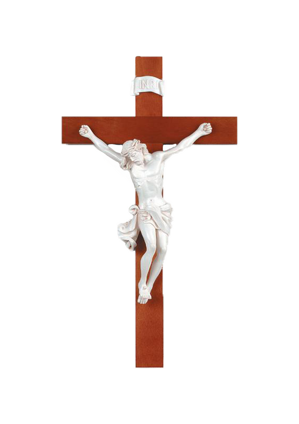 22in. Wood Crucifix