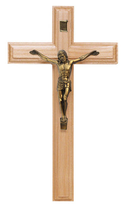 11in. Maple Crucifix