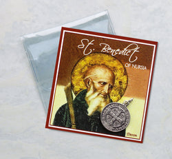 St. Benedict Prayer Folder