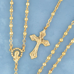 Metal Bead Rosary - 903