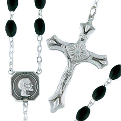 Glass Rosary - D475