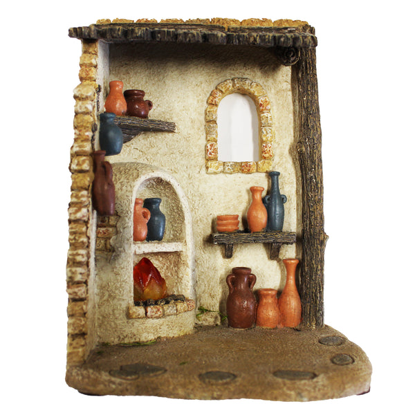 Fontanini Pottery Shop Lighted - 5 Inch Collection