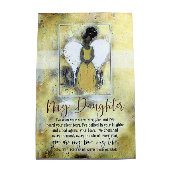 """My Daughter,"" Plaque y Woodland Grace"