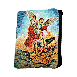 St. Michael The  Archangel Rosary/Coin Purse