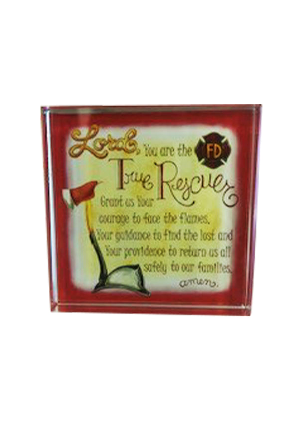 True Rescuers Acrylic Paper Weight