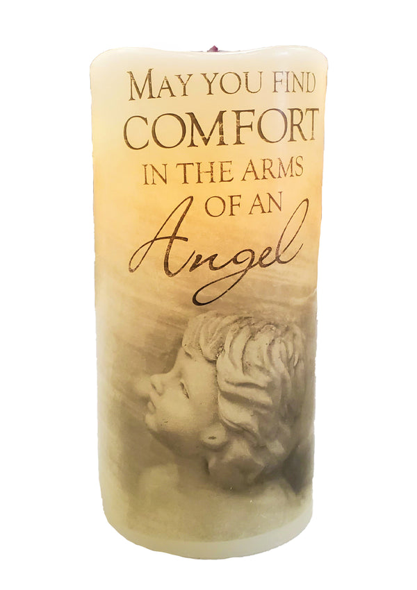 Carson Premier Candle Flameless- Arms Of An Angel
