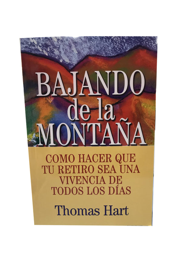 Bajando de la Montana Book By Thomas Hart