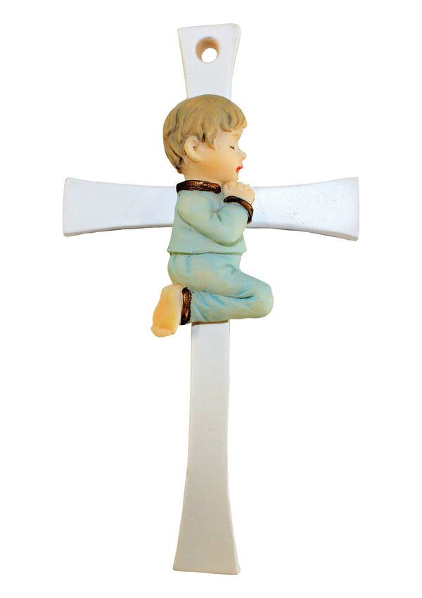Praying Girl/Boy Hanging Cross