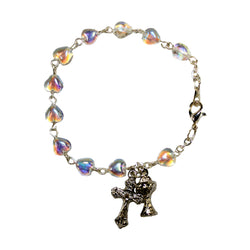Communion Chalice Heart Shaped Bracelet