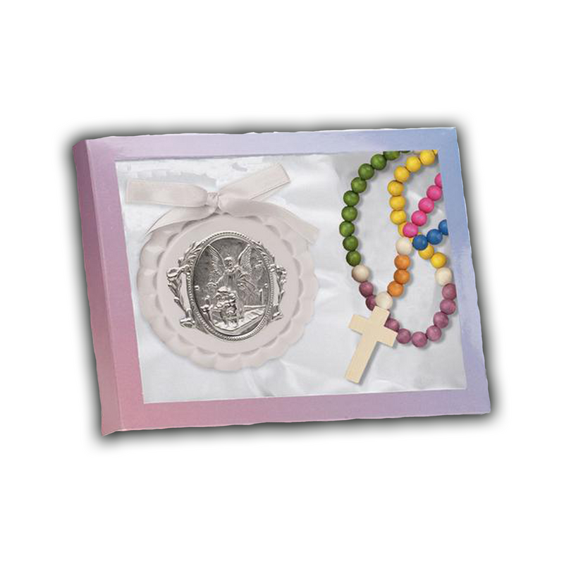 Crib Medal And Child's Rosary-100/105