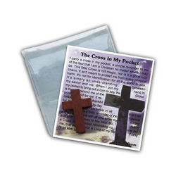 Cross in My Pocket Prayer Folder-83/CR